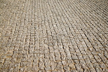 old retro Cobblestone Pavement