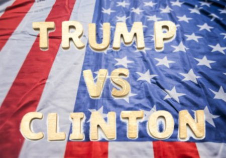 Presidential Candidates Trump vs Clinton