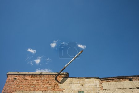 pipe extractor from brick wall