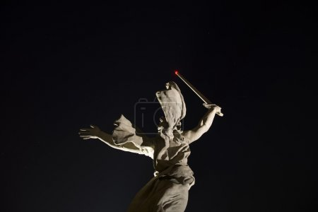 The monument the Motherland calls! dedicated to th...