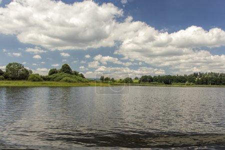 Lake Lipno in south Bohemia, Czech Republic, Europe