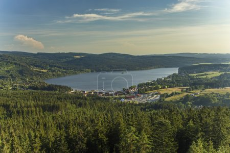Lake Lipno in south Bohemia, Czech Republic, Europe