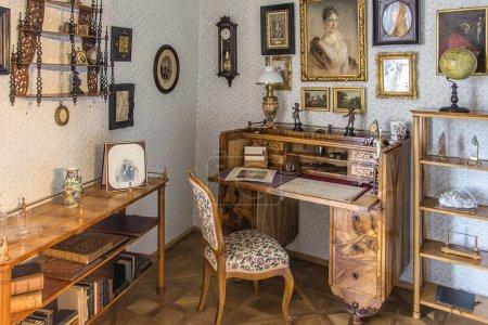 Classic interior in Biedermeier style