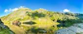 Panorama jezera Balea