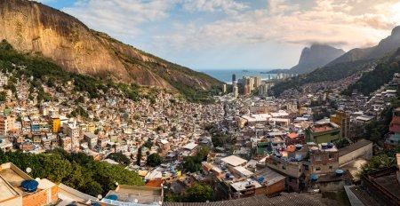View of Rio's Rocinha favela