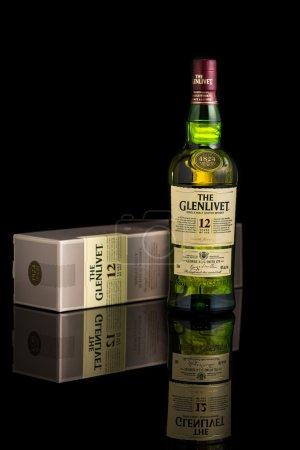 12 year old Glenlivet scotch whisky