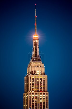 Detail of the Empire State Building