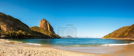 Vermelha Beach and Sugar Loaf panorama
