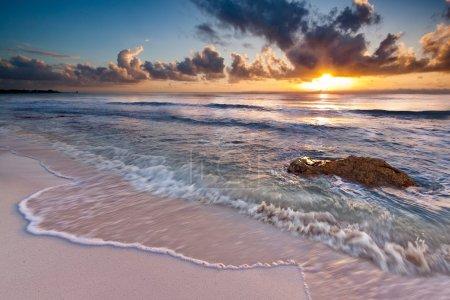 Sunrise in Riviera Maya, Mexico