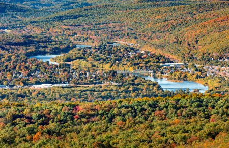 Aerial view of Port Jervis