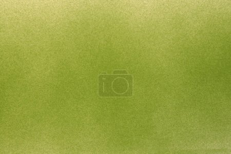 Green spary texture on white paper background...