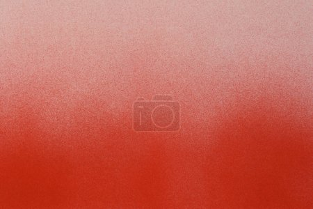 Red spary texture on white paper background...