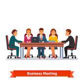 Directors board business meeting Brainstorming