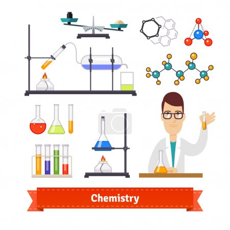 Chemistry equipment and chemist