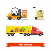 Fresh fruits and vegetables delivery