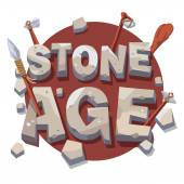 Stone age writing with prehistoric wooden tools