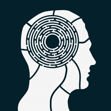 Maze of human mind