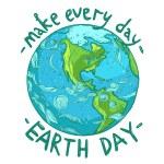Постер, плакат: Ecological Earth Day poster