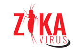 Vector Zika virus logo symbol or sign Aedes Aegypti mosquitoes