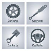 Signs of automotive auto parts