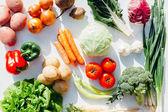 Постер Ассорти сырье органические овощи