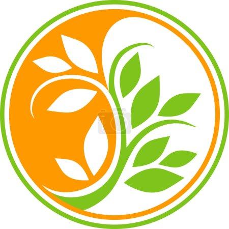 Illustration for Natural circular icon - Royalty Free Image