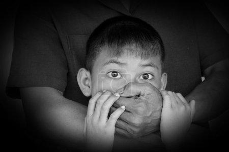 Photo pour Notion de crime et d'enlèvement . - image libre de droit