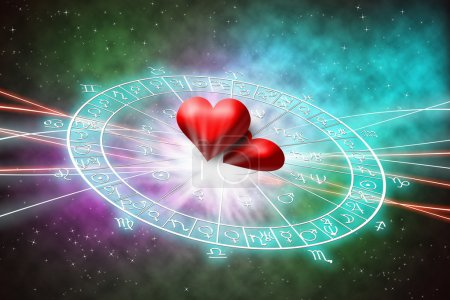 background of astrology concept