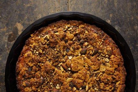 Photo for Sweet homemade almond tarte - Royalty Free Image