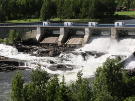 Hydropower station in Norway