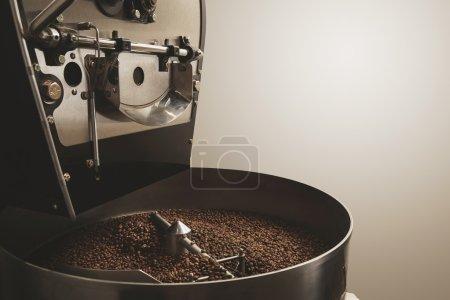 Freshly baked coffee beans best professional roasting machine