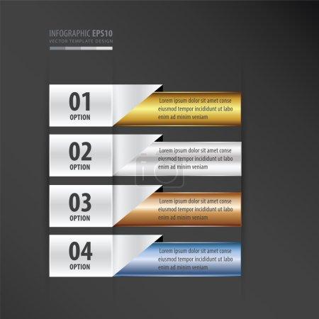 Presentation design banner gradient  style