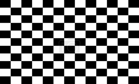 pattern of black and white squares background