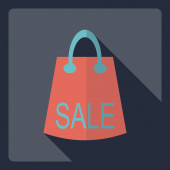 Flat modern design with shadow  Icon sale