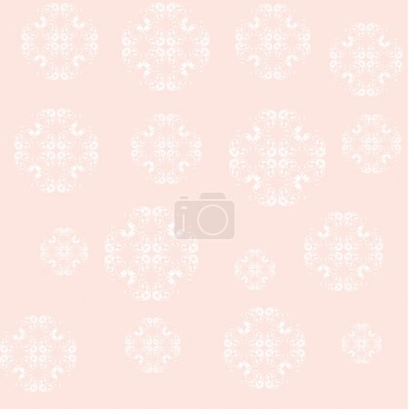 pattern with ornamental elements