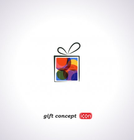 icon of holiday gift