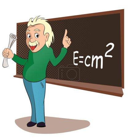 Альберт Эйнштейн Комиксы