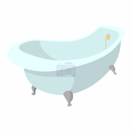 Bath cartoon icon