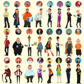 avatars and icons people's faces