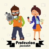 professional journalists operator and journalist