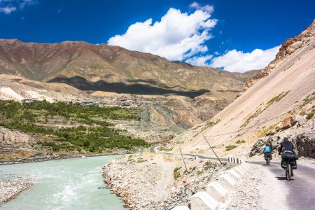 Himalayas mountain landscape. Jammu and Kashmir State, North India