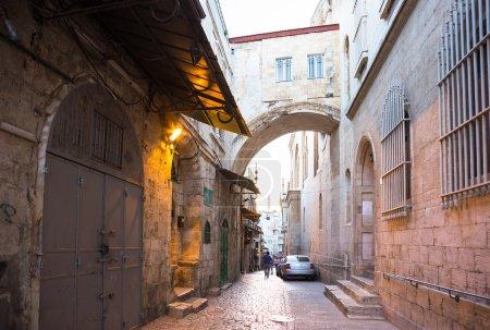 Street in Jerusalem old city