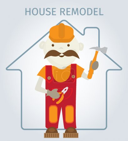 Repair of houses and flats