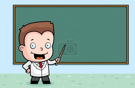 Boy Teaching