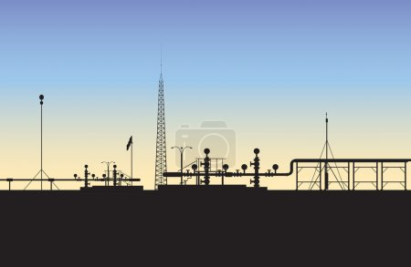 Extraction of natural gas (The Middle East)