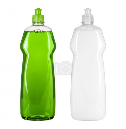 Photo for Blank dish washing liquid package - Royalty Free Image