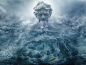 Erstellen von Poseidon-Wasserfall