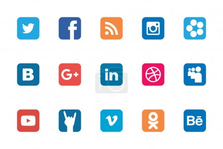 Social Rounded Rectangle icon