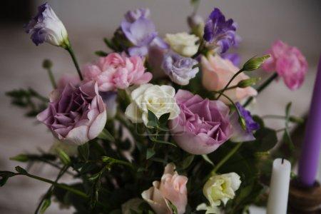 Photo pour Belles fleurs comme une dcoration de mariage - image libre de droit