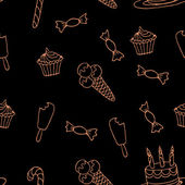 Sweet vector a seamless pattern3